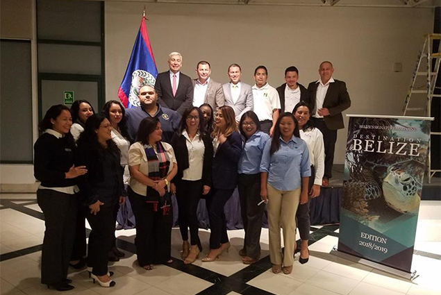 Promoting Belize through New AeroMexico Direct Flight
