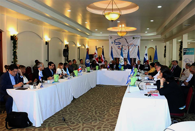 SICA Ministers Hold Successful Crime and Security Meeting