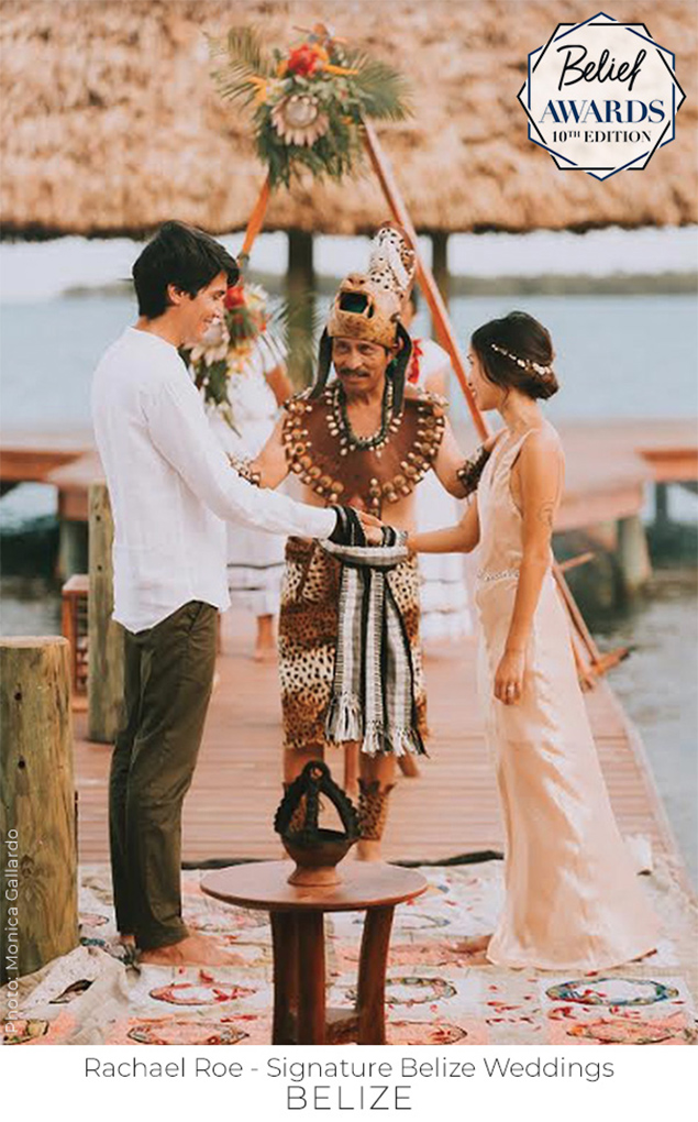 Belize Cultural Wedding Listed on Belief Awards: Best Wedding of 2018