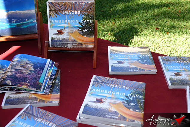 Images of Ambergris Caye Photo Book Launch by Tony Rath