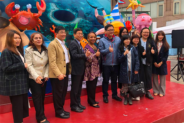 "Belize Hosts Press Conference for the 2019 Taipei Lantern Festival ""Twinkle Taipei"""