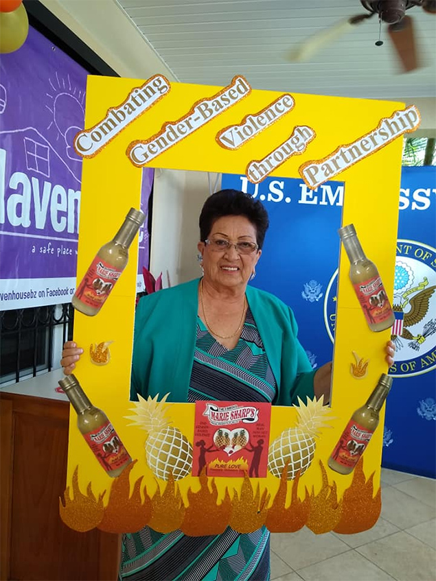 "US Embassy & Marie Sharp's launch of the New ""Pure Love"" Pineapple Habanero Pepper Sauce"