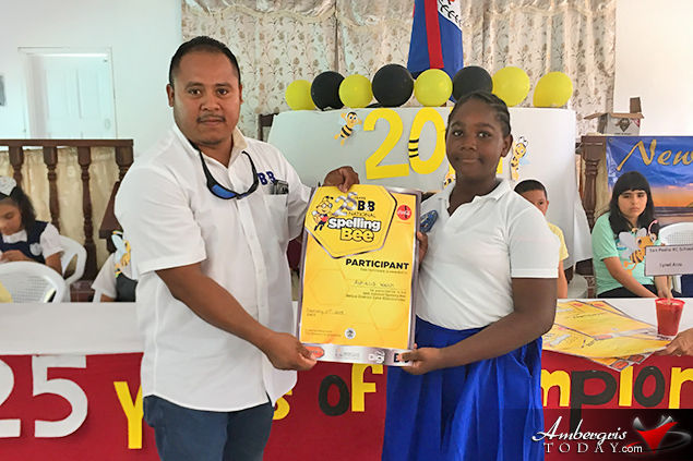 Alexis Lawrences of ACES Wins Spelling Bee Zone Eliminations