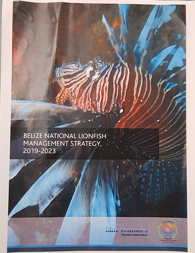 Belize Fisheries Department Launches Belize National Lionfish Management Strategy