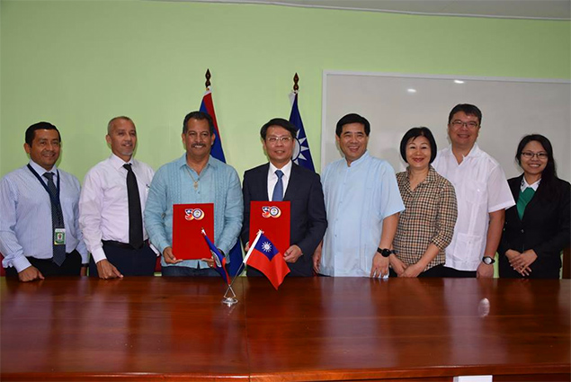 Belize Ministry of Health Signs Cooperation Agreements with Cuba and Taiwan