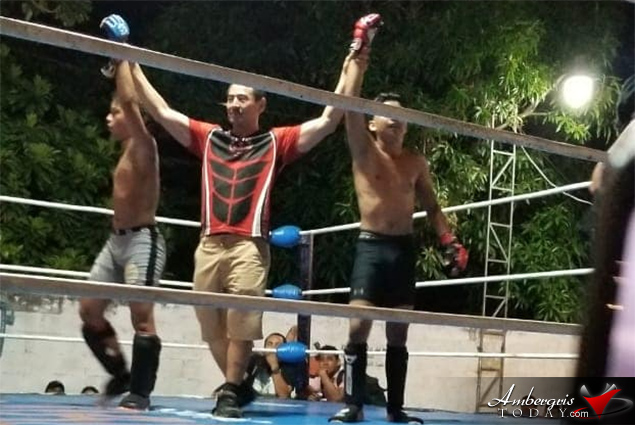 Belize's Prevail Combat Club Win MMA Matches in Chetumal