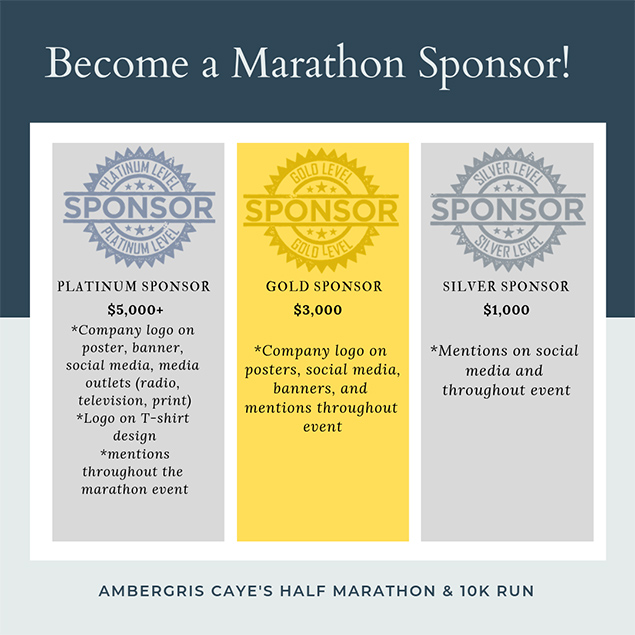 Alaia Charity Foundation to host Ambergris Caye's very first 21k/10K Fun-Run!