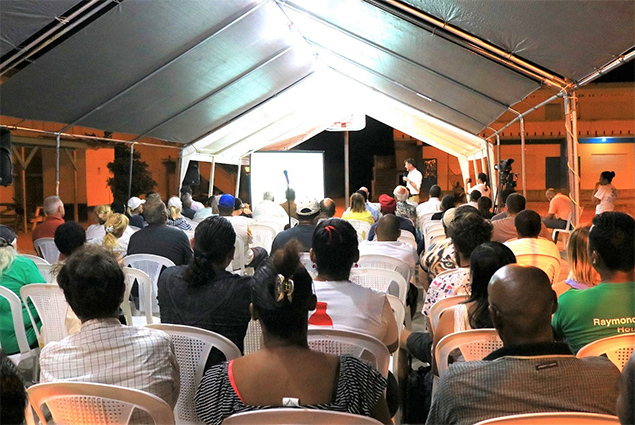 BEL Public Consultation on ESIA Report for Caye Caulker Interconnection