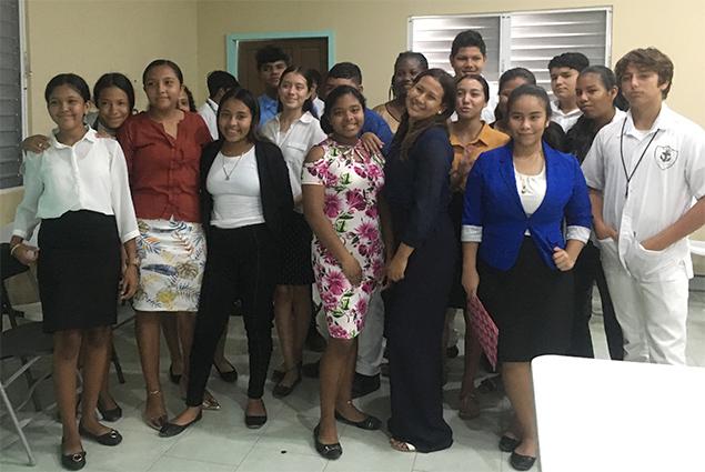 SPHS Life Skills Class - Work Interviews Experience