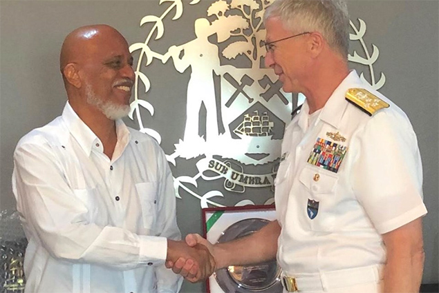 Commander of the United States Southern Command Visits Belize