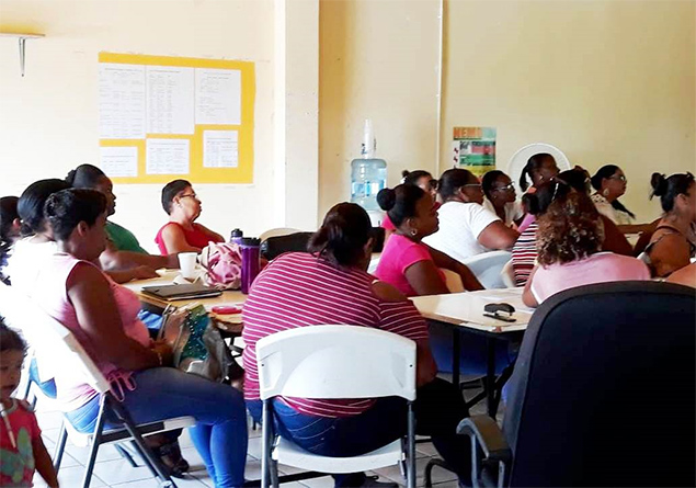 Belize District Volunteers attend Damage Assessment & Needs Analysis Workshop