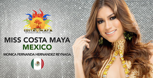 Meet Miss Mexico and Panama – Costa Maya Pageant