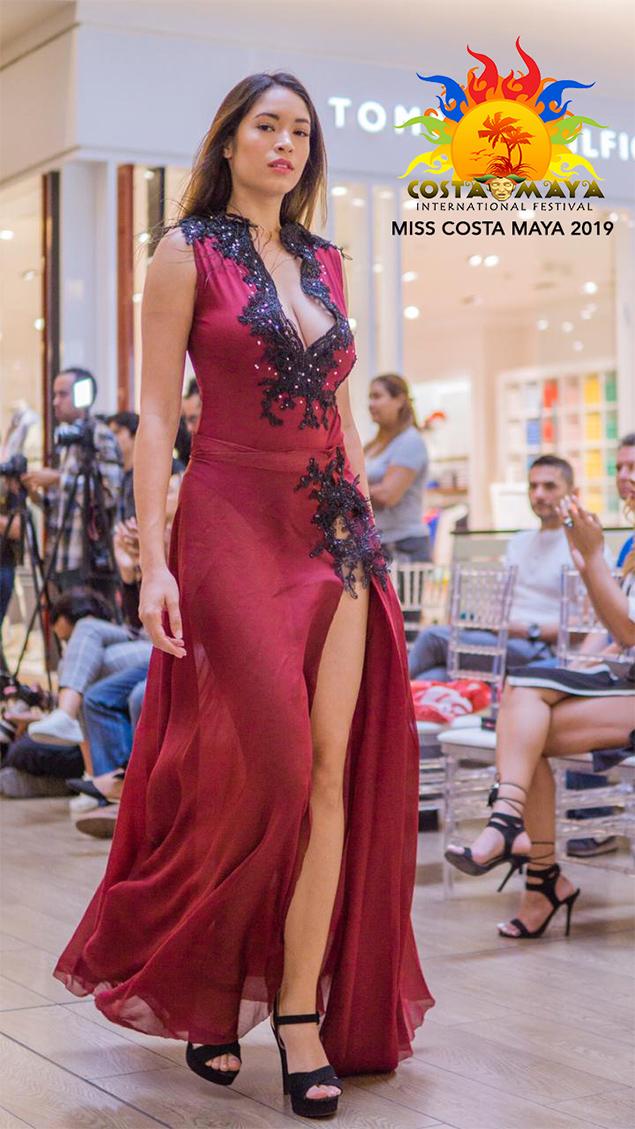 Meet Miss Mexico and Panama – Costa Maya Pageant