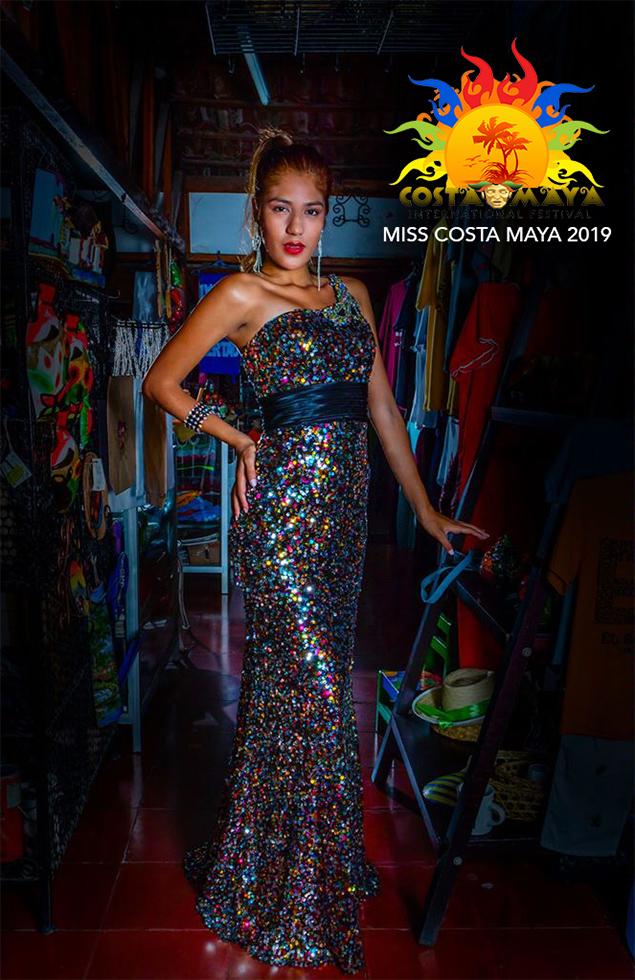 Meet Miss Belize & El Salvador for Costa Maya Pageant