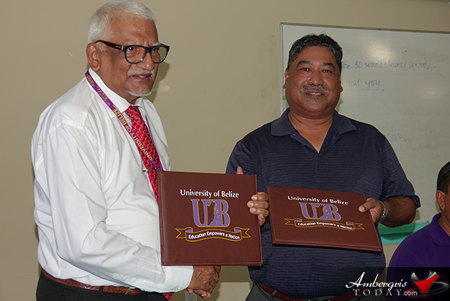 University of Belize and SP Junior College sign MOU