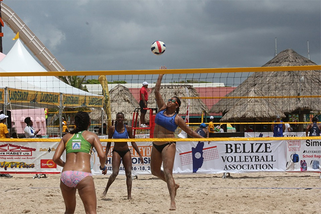 Team Belize Participates at XIX Central American Beach Volleyball Championship
