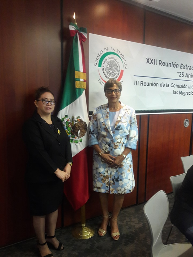 Speaker of the House of Representatives Attends FOPREL Meeting in Mexico City