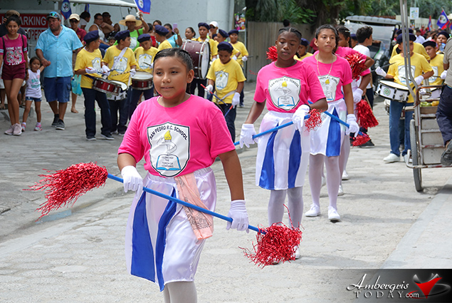 Miss San Pedro Coronation & Battle of St. George's Caye Day Celebration