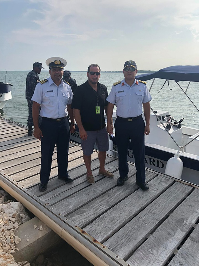 Oceana Belize & Tiburon Rum Gift the Belize Coast Guard with New Marine Vessel