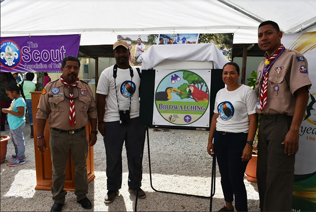 Belize Audubon Society's Bird Badge Launch