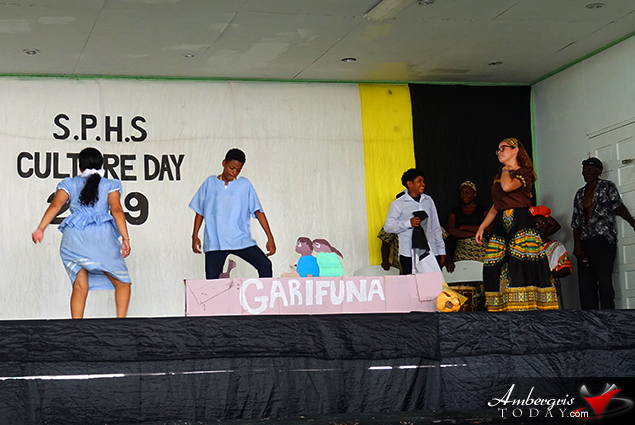 San Pedro High School Celebrates Belize's Cultures