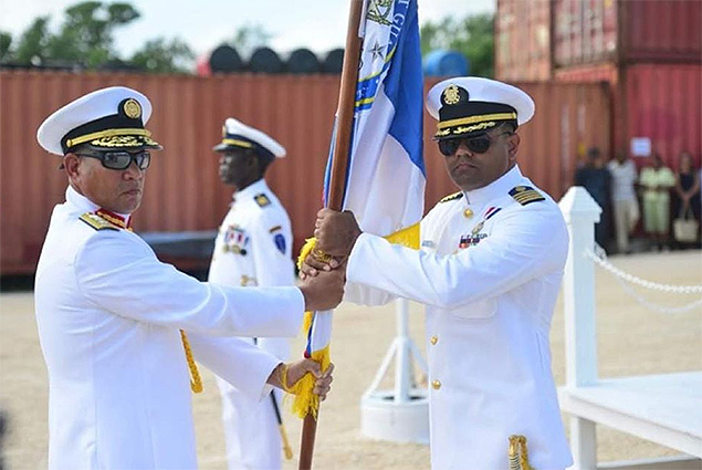 Belize Coast Guard Promotes Sanpedrana Alma Pinelo to Lieutenant Commander