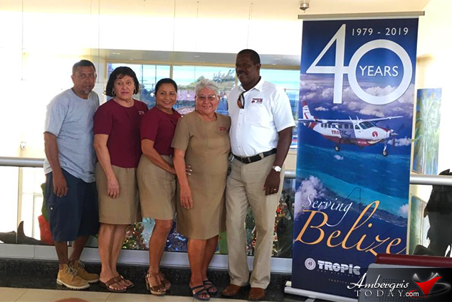 Tropic Air Acknowledges Senior Employees During 40th Anniversary