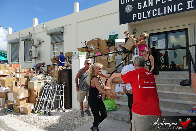 RRR Evac Donates Medical Supplies to the San Pedro Polyclinic