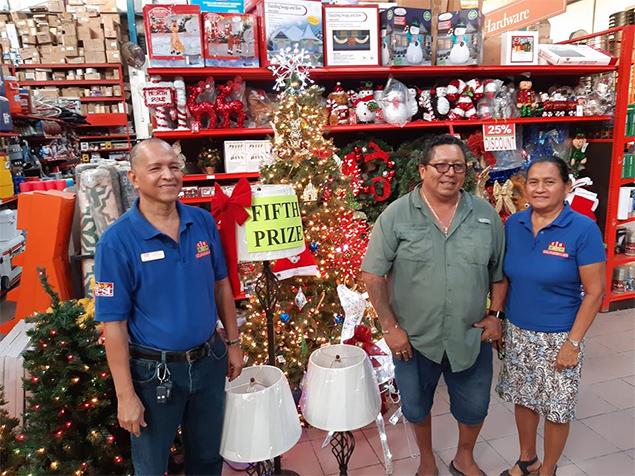 Castillo's Hardware Grand Christmas Raffle