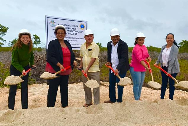 Groundbreaking for Three School Buildings in San Pedro