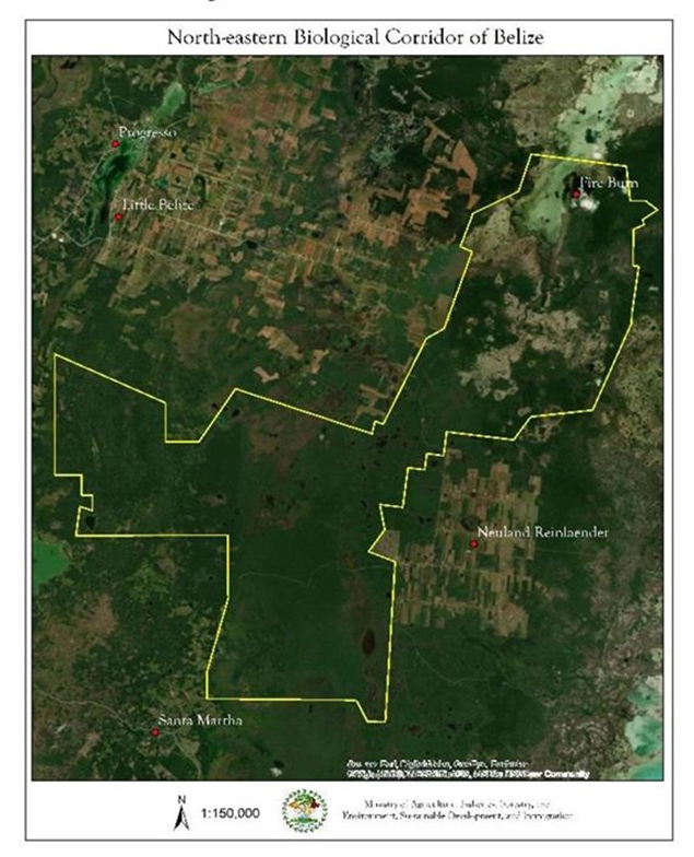 Legal Declaration of the North-eastern Biological Corridor through Statutory Instrument