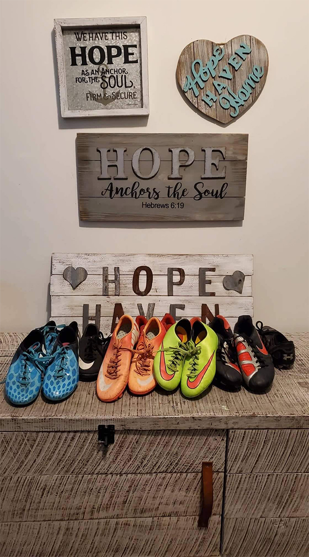Ambergris Caye Masonic Lodge Donates Soccer Shoes to Hope Haven