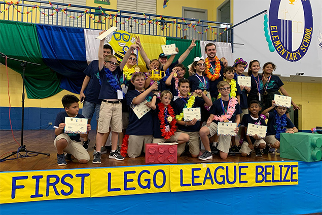 The Island Academy Wins Belize's FIRST Lego League Competition
