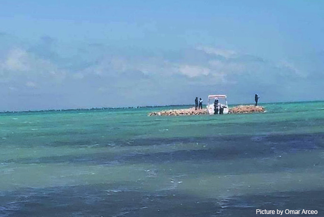 Hol Chan Marine Reserve Position on Cayo Rosario Situation