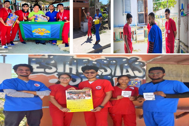 Washington University Students Participate in Health Campaign