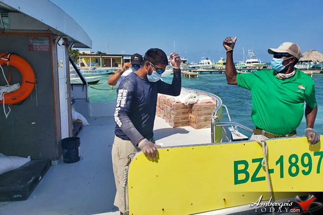 SPBZE Express Water Taxi Delivers Relief for Sister Islands