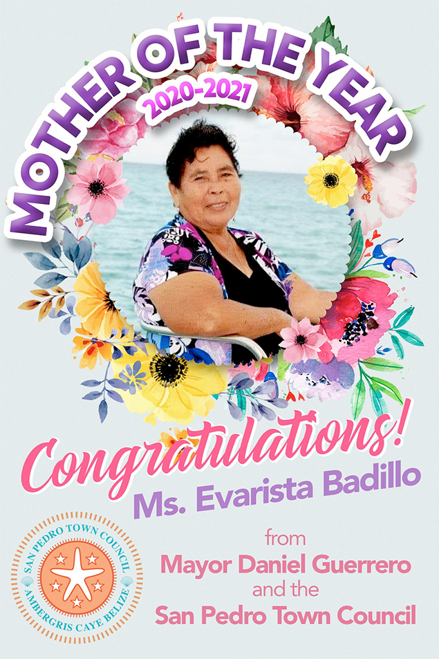 Evarista Badillo Selected as Mother of the Year 2020