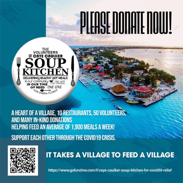Caye Caulker Unites to Feed Its Villagers in Need