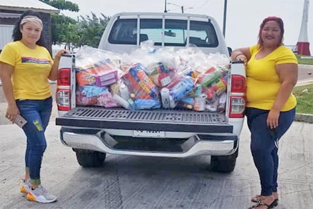 Islanders Organize Belize Children's Assistance Organization During Pandemic