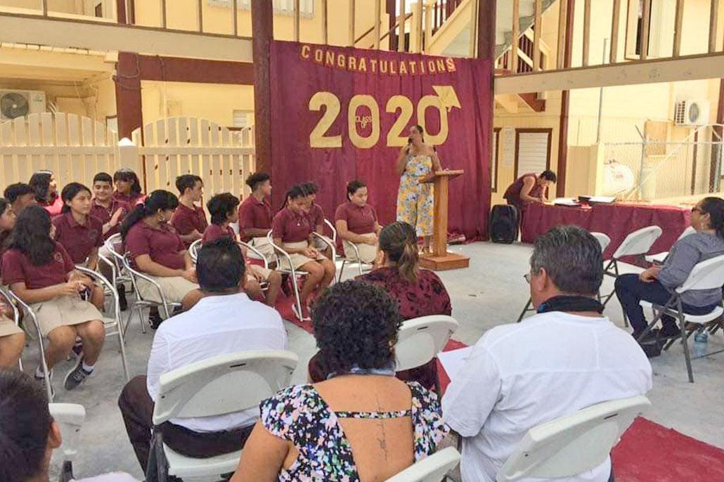 Isla Bonita Elementary Holds Graduation Ceremony
