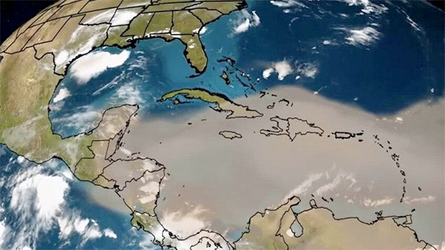 The Saharan Dust Effect on Ambergris Caye