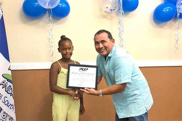 BRS PUP Standard Bearer Initiates School Assistance Program