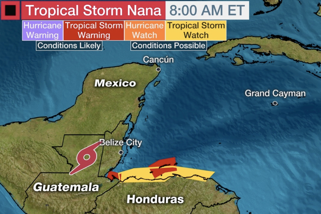 Nemo Lifts All Tropical Cyclone Warnings for Belize