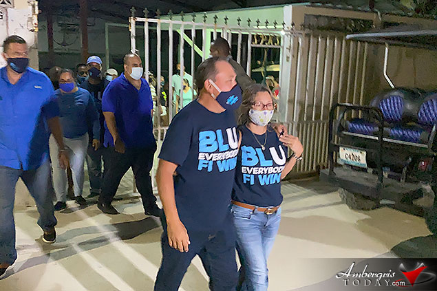 Andre Perez Takes Belize Rural South for PUP, County Goes BLU