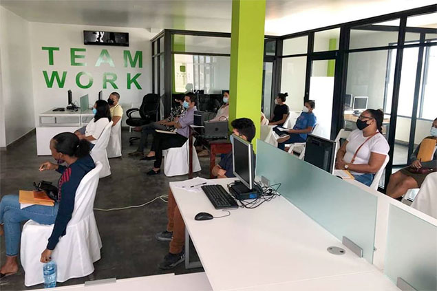 Call Center Opens in San Pedro Providing Employment Outside Tourism Industry