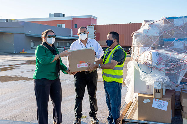 Belize Receives First Shipment of COVID-19 Vaccines