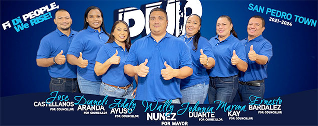 San Pedro Wakes Up to New Mayor Wally Nunez and his Six Councilors