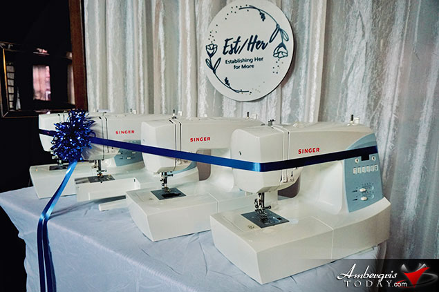 Est/Her Receives Donation of Sewing Machines