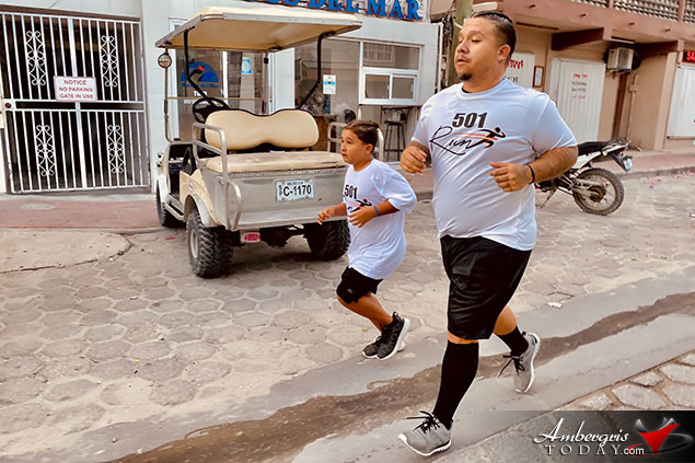 10-Year-Old Dylan Participates in Lion's 5K Birthday Run