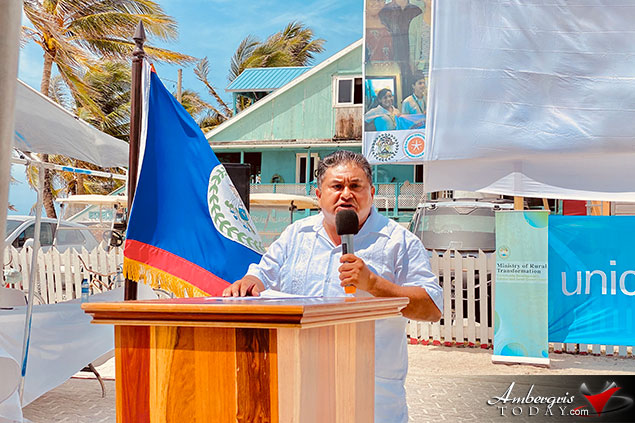 San Pedro Town Certified Silver Child Friendly Municipality